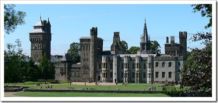 Cardiff Castle, Wolfgang Sauber, CCASA3.0